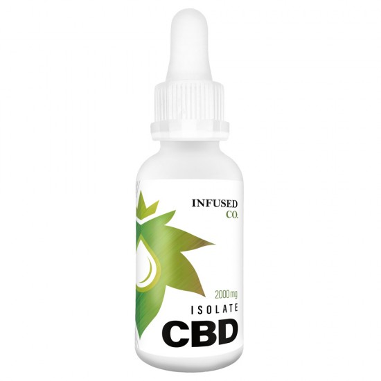 2000mg CBD ISOLATE OIL (30mL)